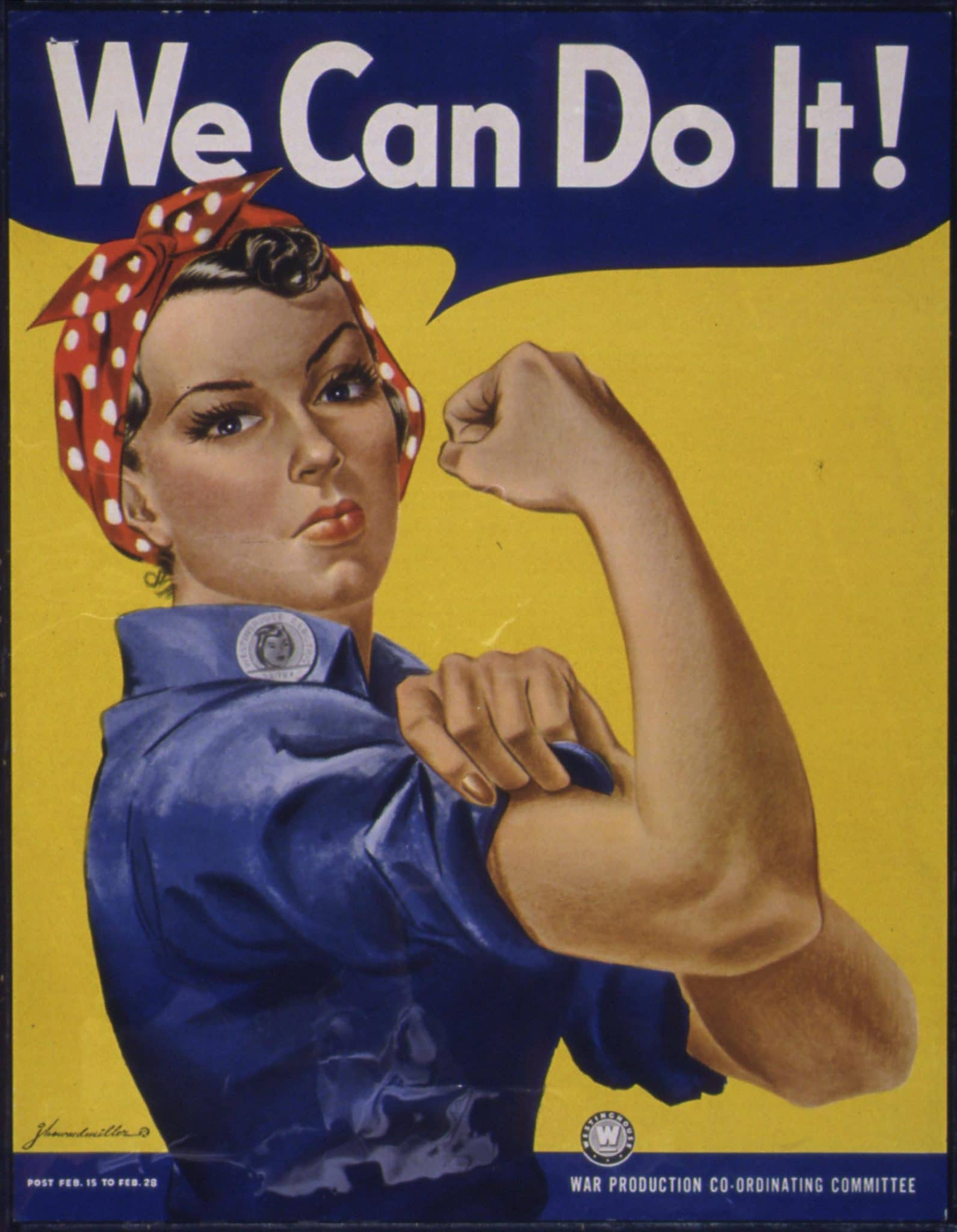 Rosie The Riveter Honoring the Women of WWII