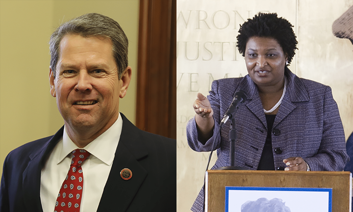 Stacey Abrams Acknowledges Brain Kemp Will Win Georgia Governor's Race