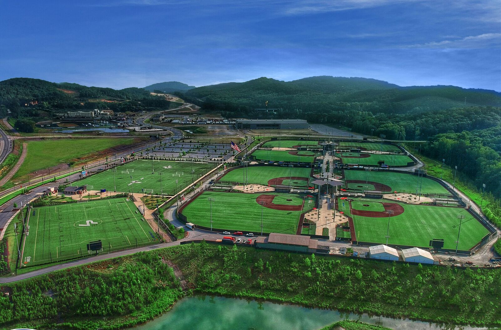 A new partnership will turn LakePoint Sports into a 'smart